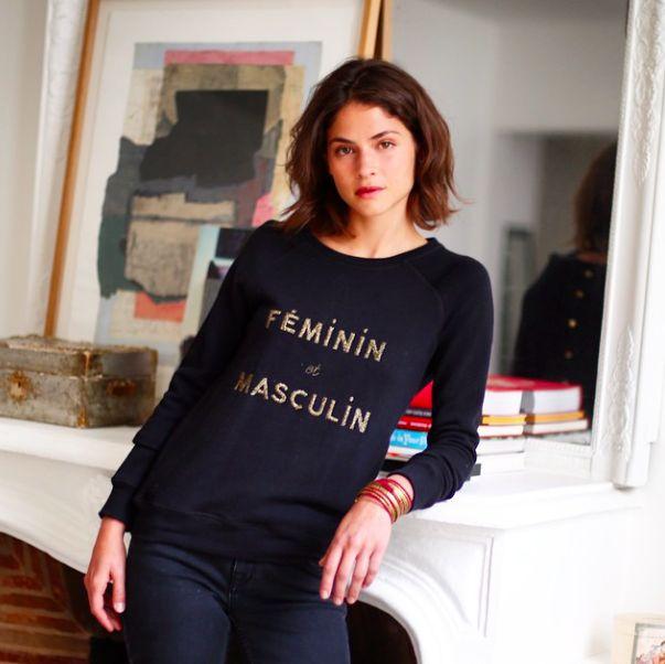 S zane morgane s zalory alba galocha masculin f minin sweatshirt sez - Style masculin feminin ...