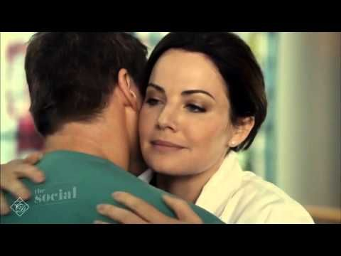 The Social - Erica Durance and Michael Shanks Interview - YouTube