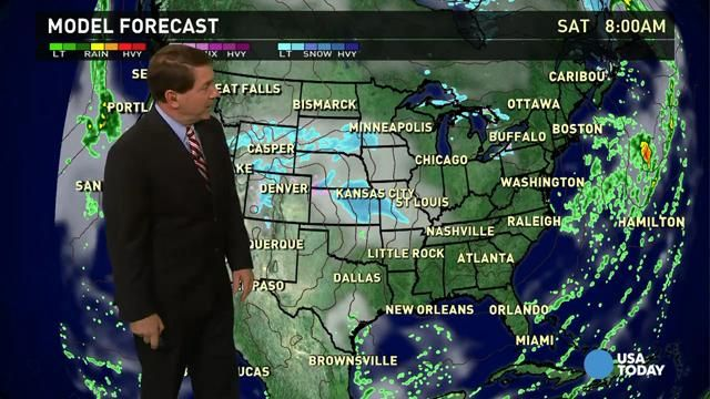 Nov 14 Friday's forecast: Arctic chill for most of U.S.