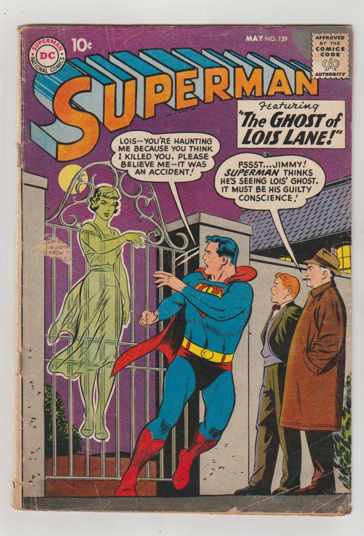 Superman; Vol 1, 129, Silver Age Comic Book.  GD/VG (3.0). May 1959. DC Comics #superman #lorilemaris #comicsforsale