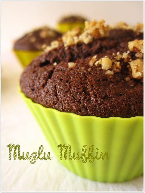 CAFE PORTAKAL: Kakaolu-Muzlu Muffin