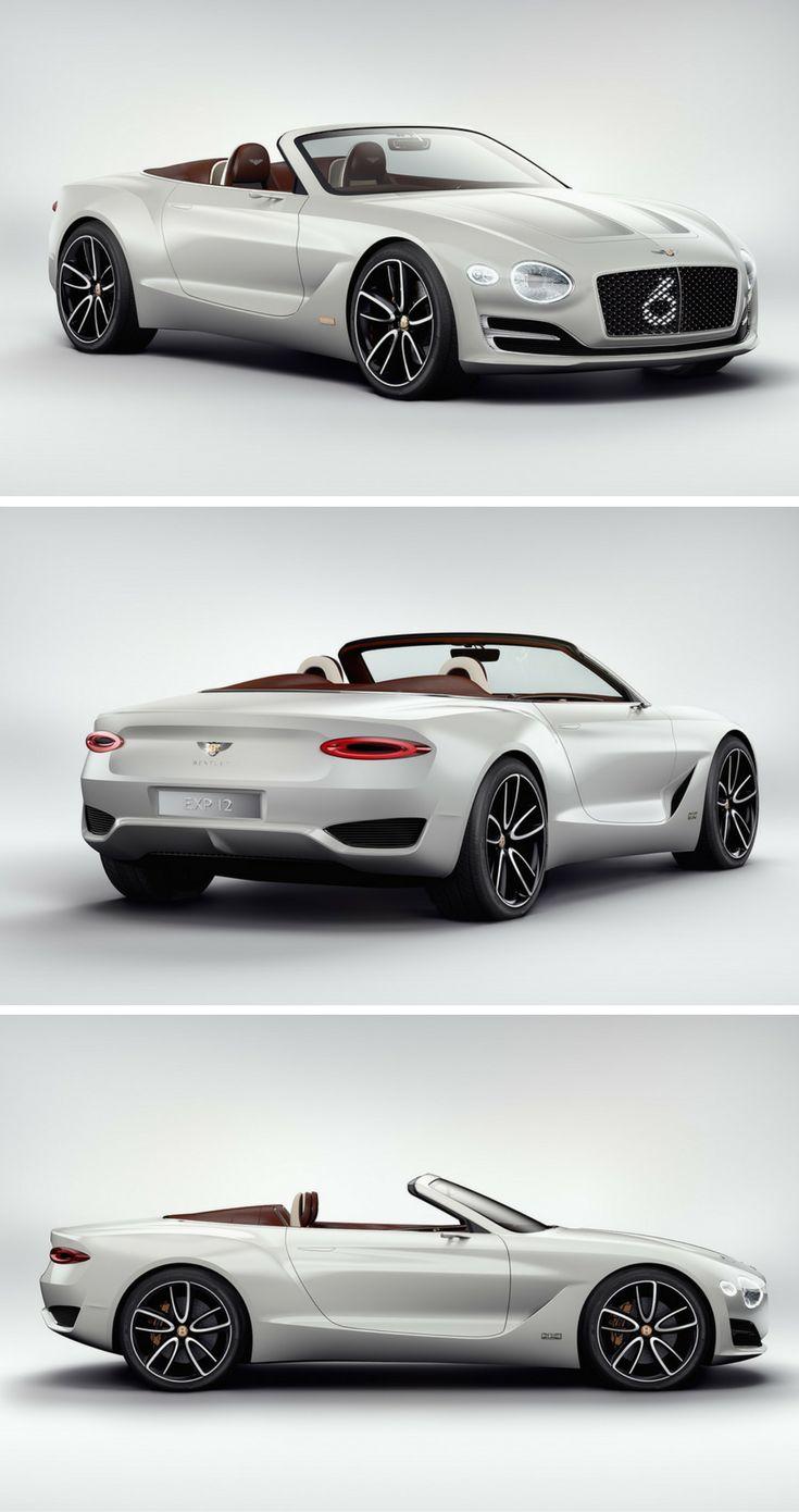 Bentley defines luxury electric with drop top exp 12 speed 6e