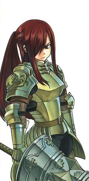via fairy tail wikia  erza's new armor