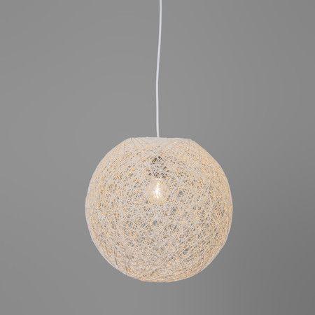 Hanglamp Corda 35 wit - Woonkamerverlichting - Verlichting per ruimte - Lampenlicht.be