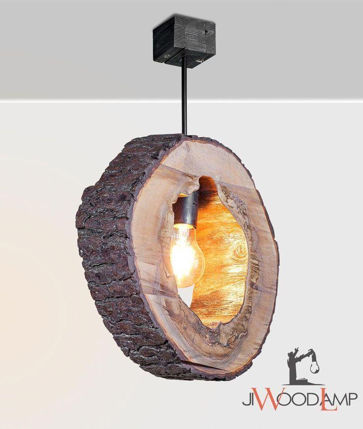 Wood #Light #Pendant #Lighting #Kitchen #lamp #Reclaimed