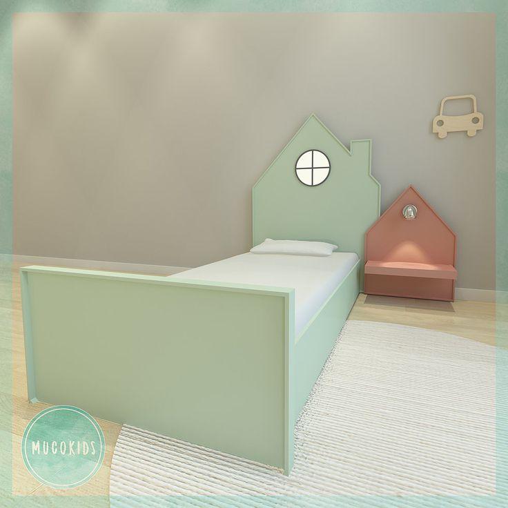 Karyola Yatak  Ürün Ebatları :  Bebek ve Çocuk Odası Mobilyası, Tekstili, Aksesuar ve Dekor Ürünleri ile Ahşap Oyuncakları İmalat ve Satışı - www.mucokids.com - www.mucostore.com