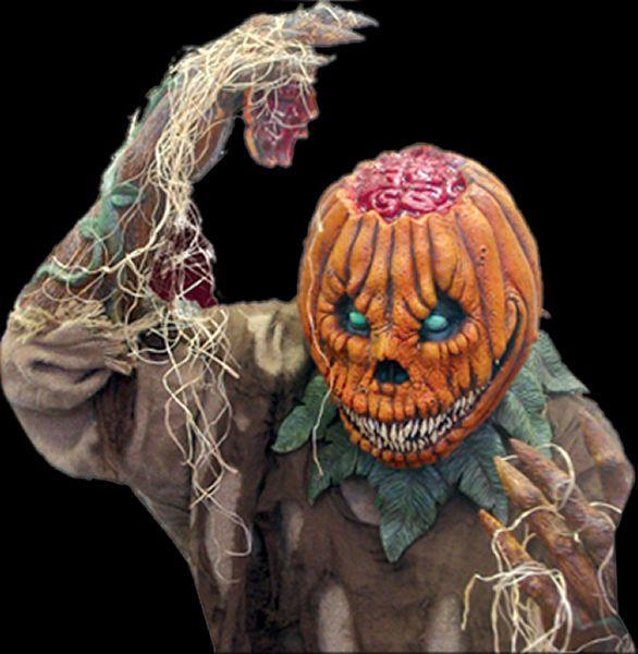 halloween mask pumpkin rot