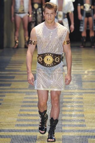 #VERSACE was serving gladiator! spring/summer 2013