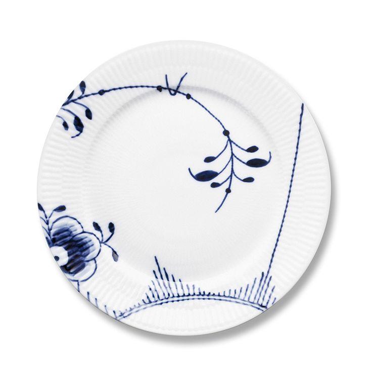 "Royal Copenhagen Blue Fluted Mega- plate 8.75""/10.75"""