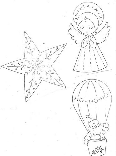 Christmas embroidery patterns. Bitting off more than I can handle? Great for stockings though.