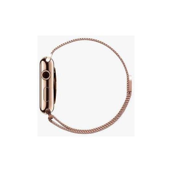 Correas de Malla de Acero Inoxidable de Apple Watch - Casetify ❤ liked on Polyvore featuring jewelry and watches