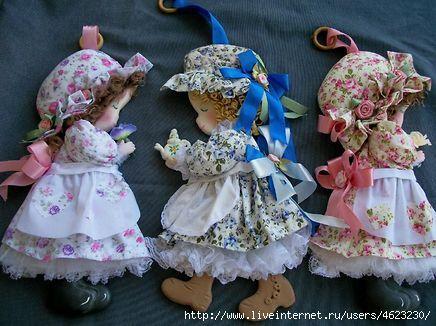 Куколки (из фетра и ткани). Обсуждение на LiveInternet - Российский Сервис Онлайн-Дневников