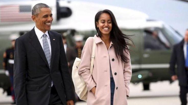 Viral Video Shows Malia Obama Blowing Smoke Rings