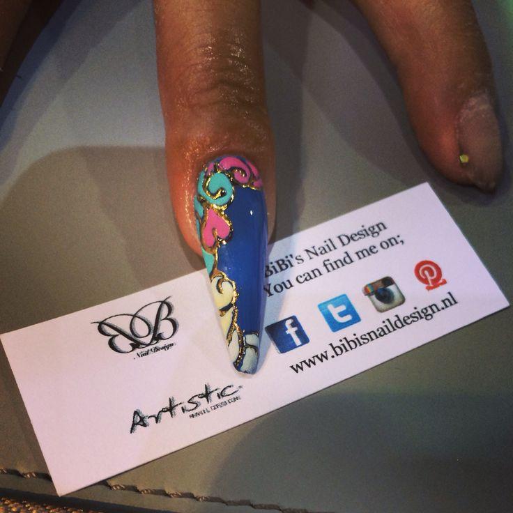 Artistic Nail Design L&P Colour Gloss