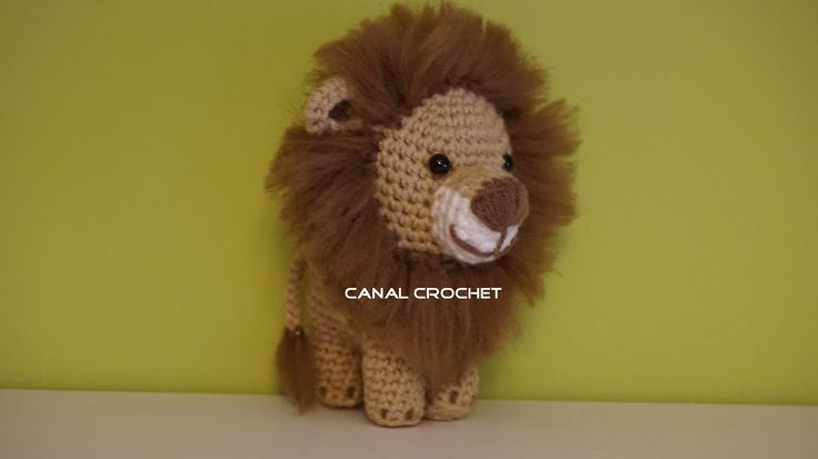 Amigurumi Lion Perritos : Canal crochet le�n amigurumi patr�n libre amigurumis