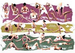 Lafay…en attendant Ashtanga. planche exercices  souplesse lafay méthode féminine fitmaforme au féminin