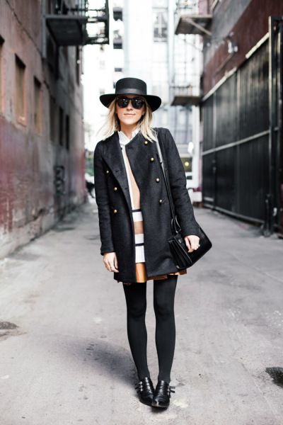 b13f41e8084 How Street Style Stars Are Wearing Felt Hats This Winter