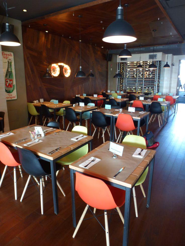 Le Bar à vin - Bistro Le Club au Quartier Dix30 #bar #vin #tapas #wine bar #cellier #Dix30 #