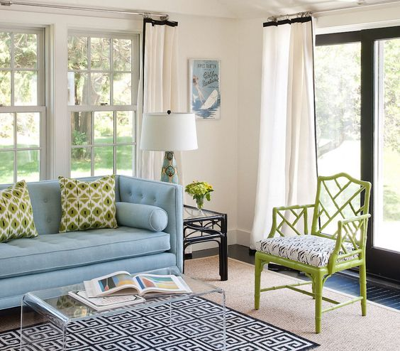 Green Living Room Ideas For Soothing Sophisticated Spaces: 17 Best Images About Interiors: Living Rooms On Pinterest