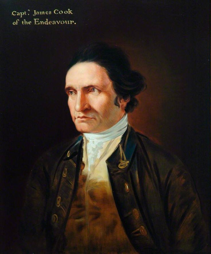 Captain James Cook (1728–1779) formerly claimed eastern Australia for Great Britain, naming it New South Wales, on this day 21st August, 1770