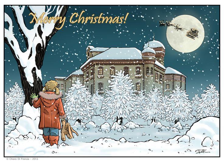 Buon Natale dalla Tipografia Di Francia!!!!  Art by © Chiara Di Francia - Tipografia Di Francia - Torino
