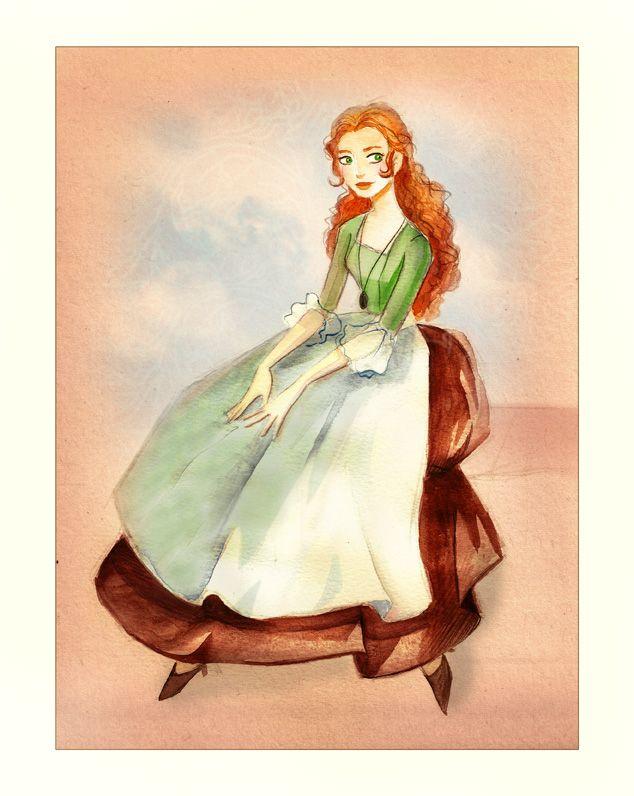 Melly - watercolor by *Katikut