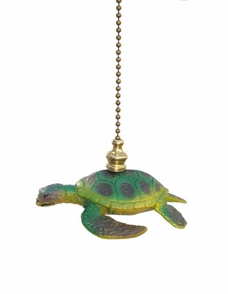 Sea Turtle Fan Pull