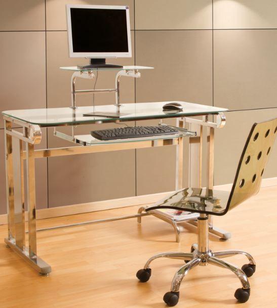 A muchas personas les facilita tener su monitor un un sitio elevado... esto es muy benéfico para la postura al momento de trabajar.