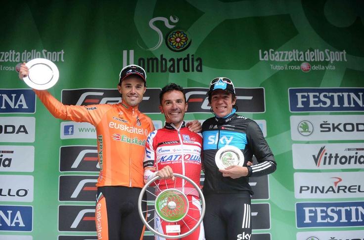 Ecco il podio: Rodriguez, Sanchez Gonzalez e Uran Uran