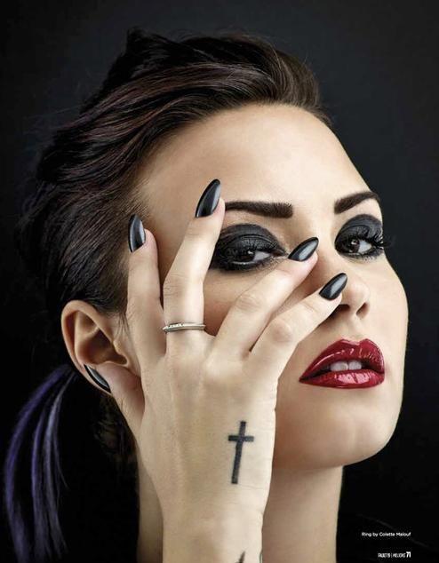 Demi Lovato já escreveu músicas para seu novo álbum