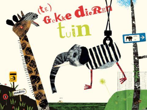 (te) Gekke Dierentuin - Een leuke iPad-app waar kinderen creatief hun eigen beest kunnen maken. €1,79