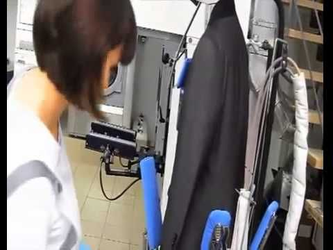 Lagoon Wet Cleaning System - YouTube