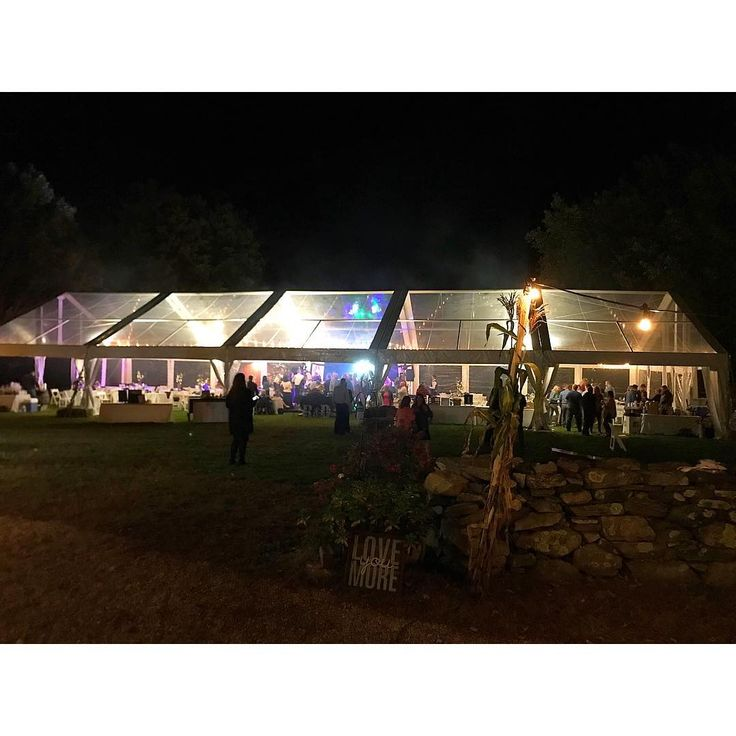 Memorable Wedding Ideas: Gorgeous Clear Tent For Ryan And Devin's Wedding Reception