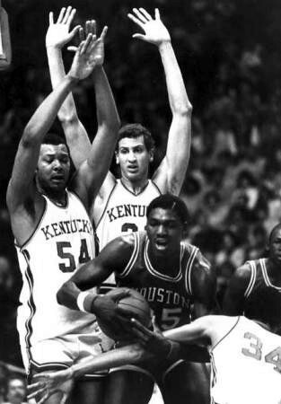 Melvin Turpin and Sam Bowie
