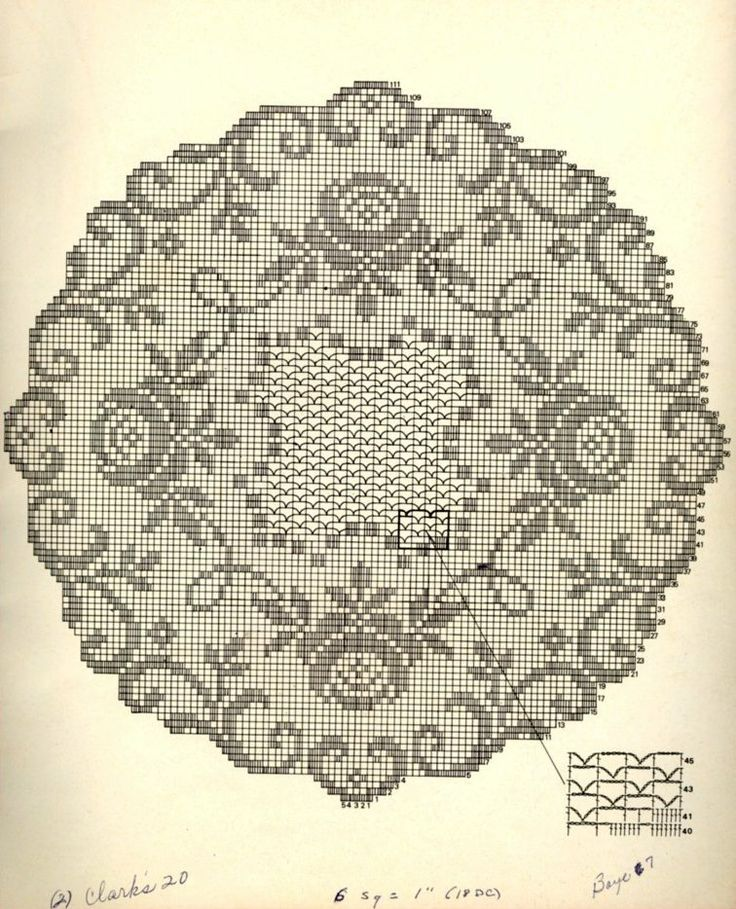 I love roses in doilies.