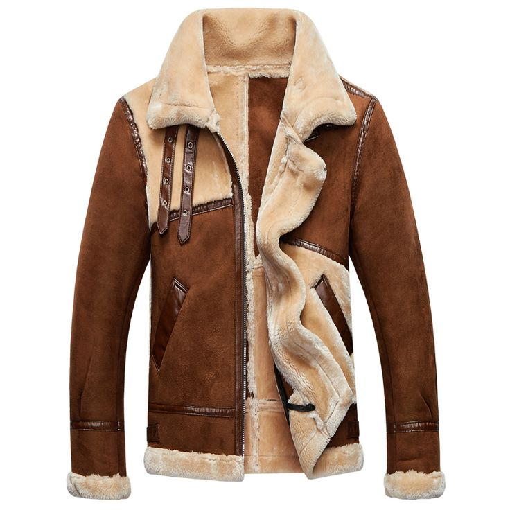 Fashion Vintage Mens Fur Leather Jackets and Coats Old Fashion 2018 Brand Mens Winter Fur Coats Thick Warm Overcoats Male C797. Yesterday's price: US $208.63 (171.37 EUR). Today's price: US $95.97 (77.88 EUR). Discount: 54%.