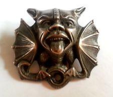 RARE Antique Signed Henrik Moller Trondheim 830 Silver Dragestil Norse Brooch