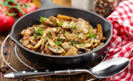 Hier finde Sie ein veganes Rezept für die Zubereitung von Pikantem Pilzcurry. Pilze enthalten keine Stärke, sondern Mannit, eine besonders für Diabetiker geeignete Zuckerart.