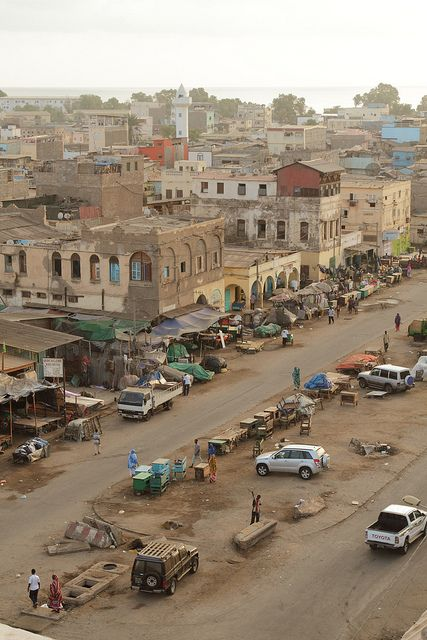 Djibouti City, Horn of Africa, this picture brings so many memories to mind...