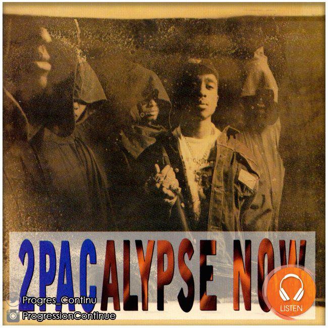 """2PAc - 2pacalypse Now (1991) // 2Pacalypse Now est donc le 1er album de 2Pac. Mais cet album est pour moi un de ces plus """"vrai"""" car les lyrics sont vraiment poignantes... Brenda's Got A Baby... Violent... Trapped... If My Homies Call... #2pac #tupac #shakur #2pacalypse #now #album #rap"""