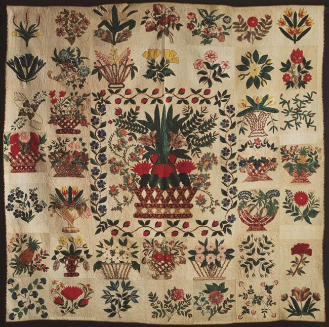 228 Best Antique Baltimore Album Style Quilts Images On Pinterest