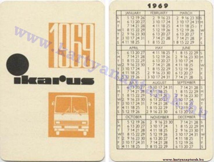1969 - 1969_0320 - Régi magyar kártyanaptárak