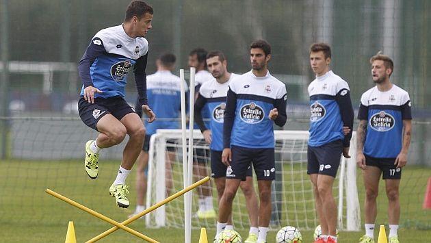 El deportivo empieza hoy a preparar el próximo partido de liga contra el Granada. @Deportivo #DaleDé #9ine
