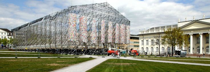 Artist creates massive replica of the Parthenon using 100,000 banned books | Inhabitat - Green Design, Innovation, Architecture, Green Building