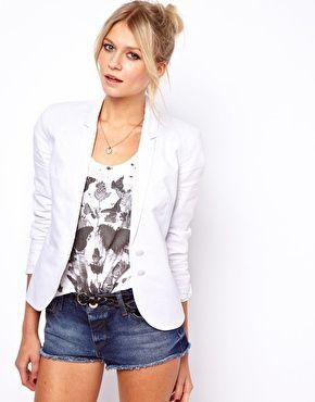 ASOS Linen Tailored Blazer