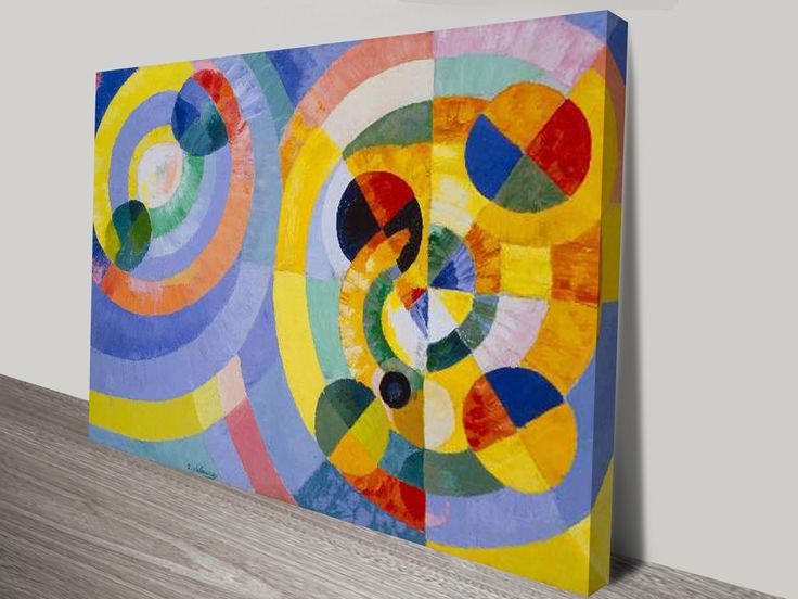 Circular Forms By Robert Delaunay