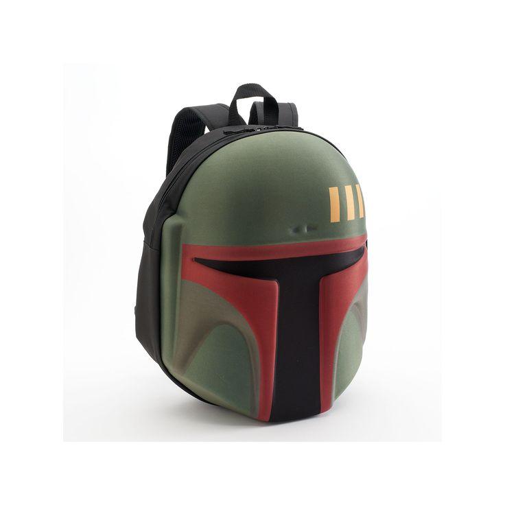 Star Wars Boba Fett Head Backpack, Green