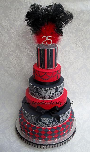 6 tier red & black   Flickr - Photo Sharing!