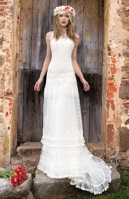 22 best Bridal 2015 - YolanCris Ethnic Chic Wedding Dresses images ...