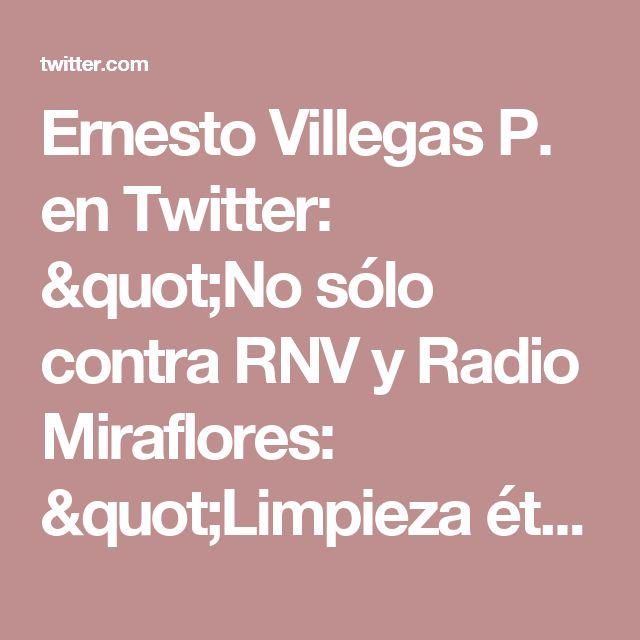 """Ernesto Villegas P. en Twitter: """"No sólo contra RNV y Radio Miraflores: """"Limpieza étnica"""" contra el chavismo en Twitter es equivalente a la quema de personas en la realidad https://t.co/H5Ro9SpAvt"""""""
